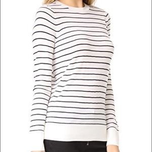 😎 Club Monaco Mackenzie Striped Sweater - Small